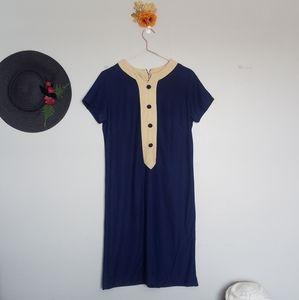 Vintage Mod Knit Dress